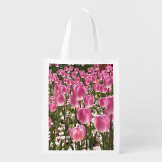 Tulipes de Canberra Sacs D'épicerie Réutilisables