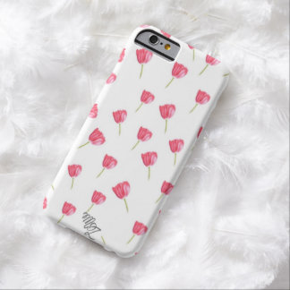 Tulipes en pastel coque iPhone 6 barely there