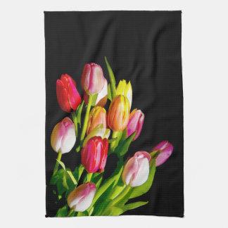 Tulipes Linge De Cuisine