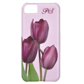 Tulipes pourpres coque iPhone 5C