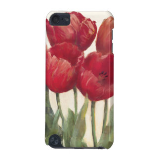 Tulipes rouges coque iPod touch 5G