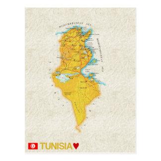 ♥ Tunisie de CARTES POSTALES de CARTE