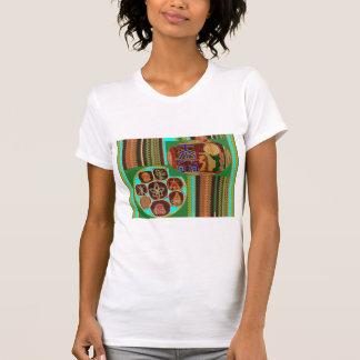Tunnel cosmique de Chakra de symbole curatif de T-shirt
