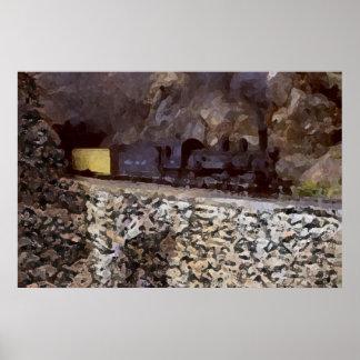 Tunnel de montagne posters