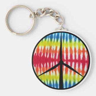 Turbine de paix porte-clé rond