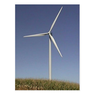 Turbine de vent cartes postales
