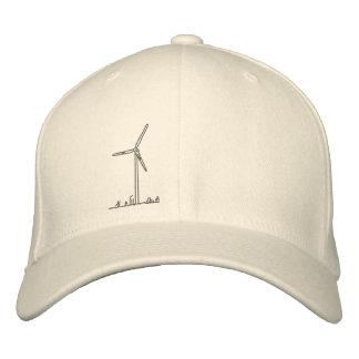 Turbine de vent Hat_8036 Casquette Brodée