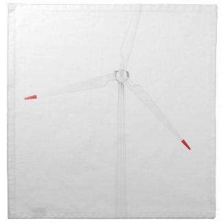 Turbine de vent serviette imprimée