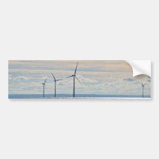Turbines de vent autocollant de voiture