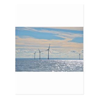 Turbines de vent cartes postales