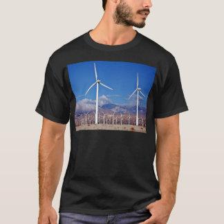 Turbines de vent t-shirt