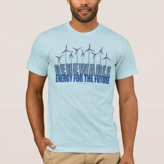 Turbines d'énergie éolienne t-shirt