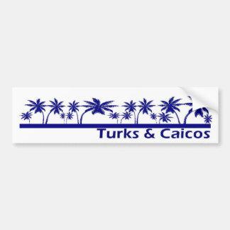 Turcs et la Caïques Autocollant De Voiture