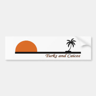 Turcs et la Caïques Autocollant Pour Voiture