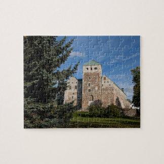 Turku, Finlande, château antique de Turun Linna, a Puzzle