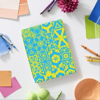 Turquoise 4Terrence géométrique jaune Protection iPad