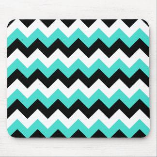 Turquoise et noir tapis pour souris et turquoise et noir for Tapis noir et turquoise