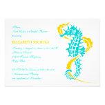 Turquoise d'hippocampe, douche nuptiale de mariage