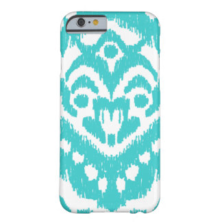 Turquoise d'Ikat- de zigzag de Megan Adams Coque iPhone 6 Barely There