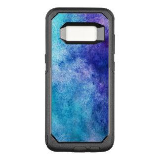 Turquoise et résumé moderne pourpre coque samsung galaxy s8 par OtterBox commuter
