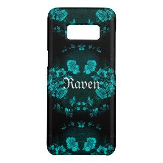 Turquoise éternelle gothique de Name* de *Your Coque Case-Mate Samsung Galaxy S8