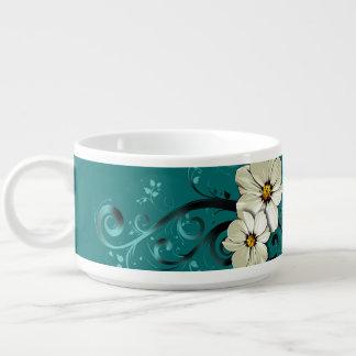 Turquoise florale fleurie du Flourish | Bol À Chili
