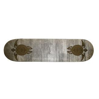 Turtle tribal plateaux de skateboards customisés