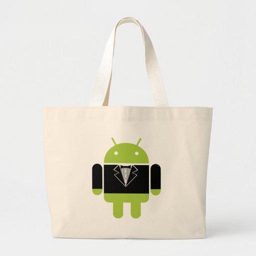 Tux androïde sacs fourre-tout