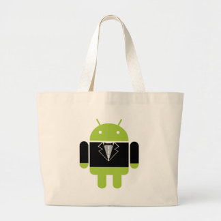 Tux androïde sac en toile jumbo