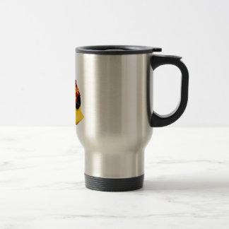 Tux décontracté mug de voyage en acier inoxydable