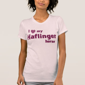 Tuyau de Haflinger T-shirt