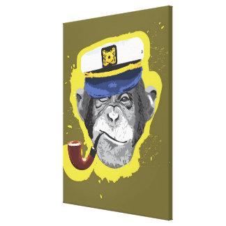 Tuyau de tabagisme de chimpanzé toiles