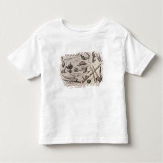 Tuyaux de tous les peuples t-shirt pour les tous petits
