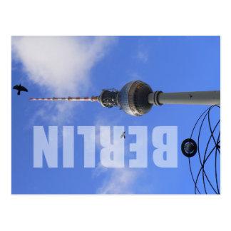 TV de Berlin Tower (tour de télévision de Berlin) Cartes Postales