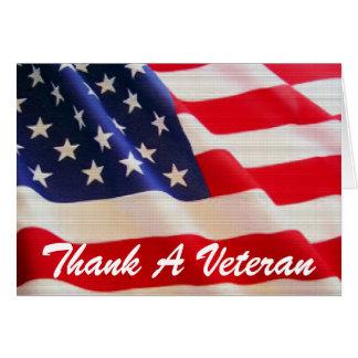 TVAREF - Remerciez une carte de vétéran