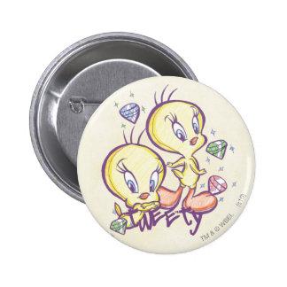 Tweety avec des gemmes badge