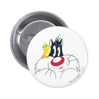 Tweety dans la pose 12 d'action badges