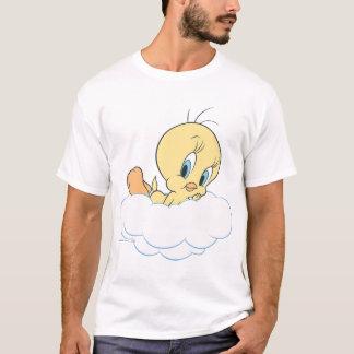 Tweety dans la pose 3 de nuages t-shirt