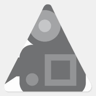 Twitter Emoji - Camera film making Sticker En Triangle