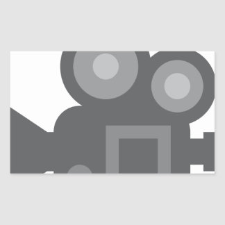 Twitter Emoji - Camera film making Sticker Rectangulaire