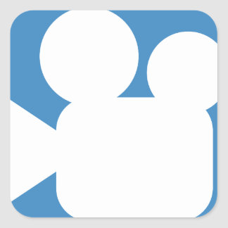 Twitter Emoji - camera symbol film Sticker Carré