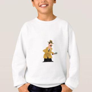 type de cannette de fil sur le vagabondage sweatshirt