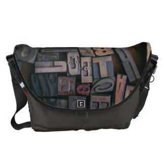 Type en bois - impression en sous-traitance de sacoches