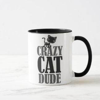 Type fou de chat tasses
