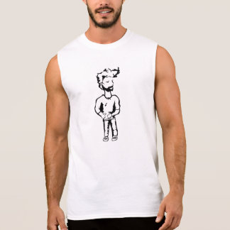 Type frais tee-shirt sans manches