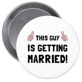 Type se mariant badge rond 10 cm