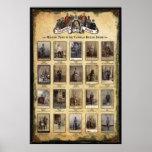 Types militaires de l'Empire Britannique victorien Poster