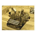 Typewriter2 Cartes Postales