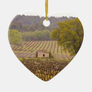 Typically french ornement cœur en céramique