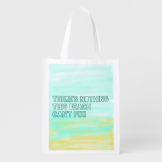 Typographie d'aquarelle de citation d'amant de sac réutilisable